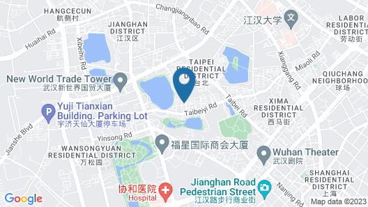 Wuhan Guanhu Platinum Hotel Map