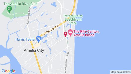 The Ritz-Carlton, Amelia Island Map