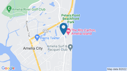 The Ritz-Carlton, Amelia Island Map