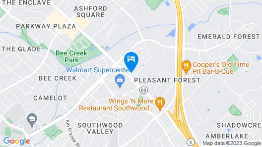 Wyndham Garden College Station Map