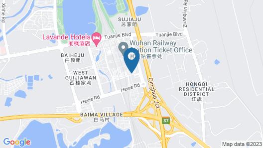 Xinsu Apartment Wuhan High-speed Railway Station Map