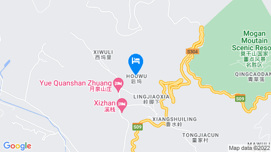 Moganshan Solvang Village Boutique Hotel Map