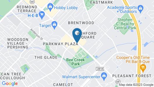 Days Inn by Wyndham Bryan College Station Map