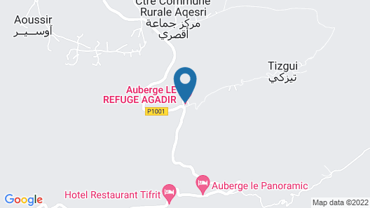 Auberge Le Refuge Agadir Map