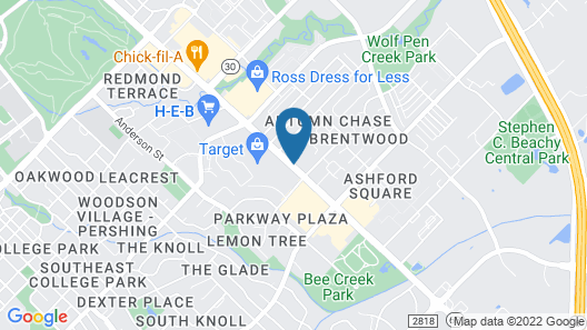 Comfort Suites Texas Ave. Map