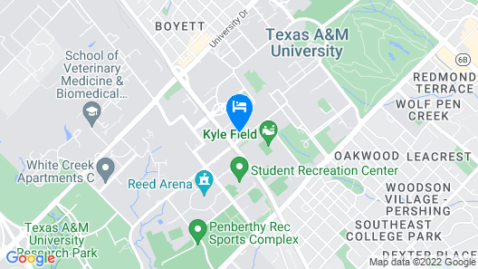 Texas A&M Hotel and Conference Center Map