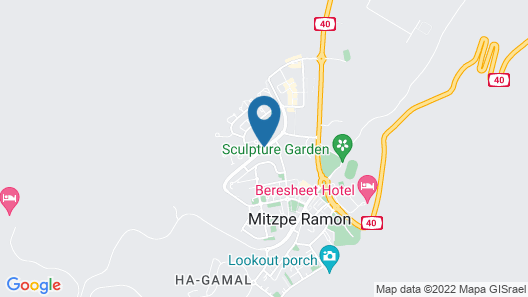 4 Zimmers in Mitzpe Ramon Map