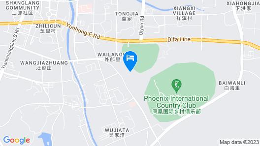 JW Marriott Hotel Zhejiang Anji Map
