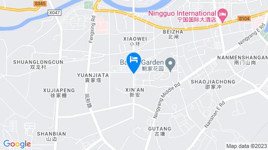 Magnotel Hotel of Xuancheng Ningguo Xianxia Road Map