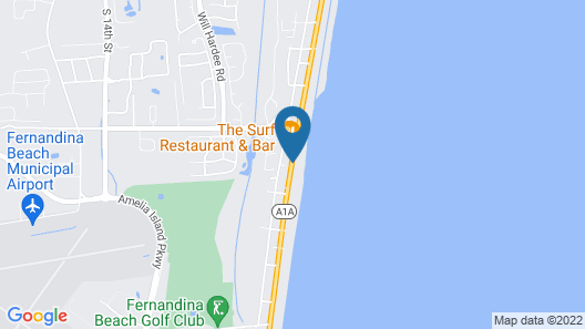 Amelia by The Sea Rentals Map