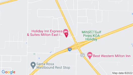 Holiday Inn Express Hotel & Suites Milton East I-10 Map