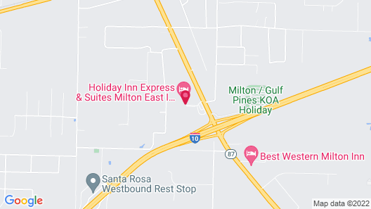 Holiday Inn Express Hotel & Suites Milton East I-10, an IHG Hotel Map