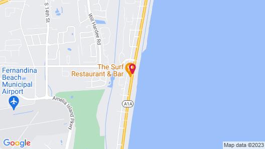 Beachside Motel Map