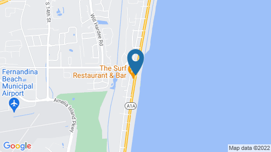 Beachside Motel Map