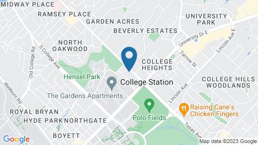 Econo Lodge College Station University Area Map