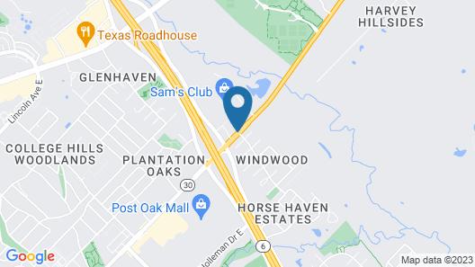 Baymont by Wyndham College Station Map