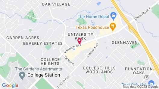 Comfort Suites University Drive Map