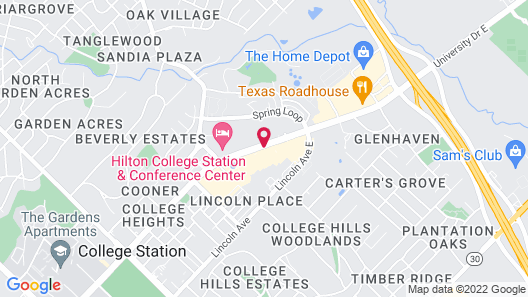Homewood Suites by Hilton College Station Map