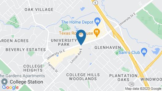 Hyatt Place College Station Map