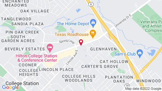 TownePlace Suites by Marriott College Station Map