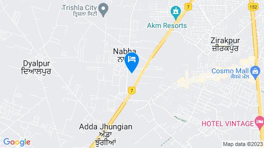 Radisson Chandigarh Zirakpur Map