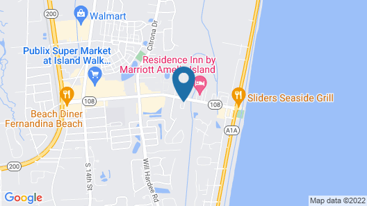 Home2 Suites by Hilton Fernandina Beach Amelia Island, FL Map