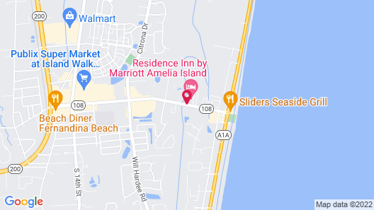 Residence Inn by Marriott Amelia Island Map