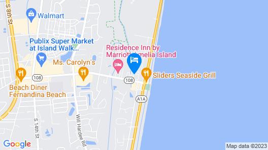 Ocean Coast Hotel at the Beach Map