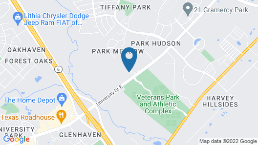 Candlewood Suites College Station At University, an IHG Hotel Map