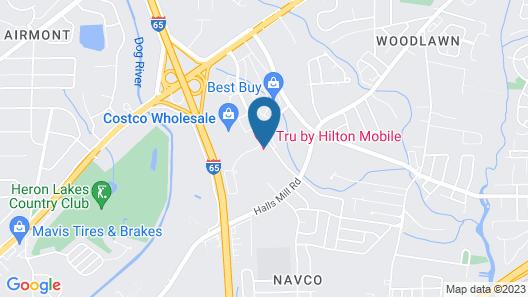 Tru by Hilton Mobile Map