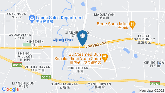 Holiday Inn Express Chengdu Longquanyi North, an IHG Hotel Map