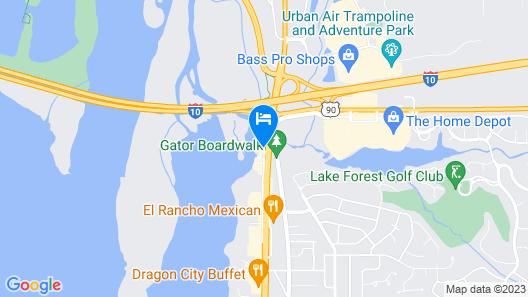 Hampton Inn Mobile-East Bay/Daphne, AL Map