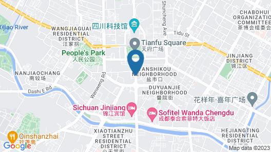 Intercontinental Residences Chengdu City Center, an IHG Hotel Map
