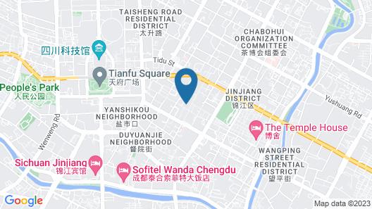 Chengdu Harriway Hotel Map