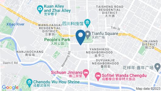 Canopy by Hilton Chengdu City Centre Map
