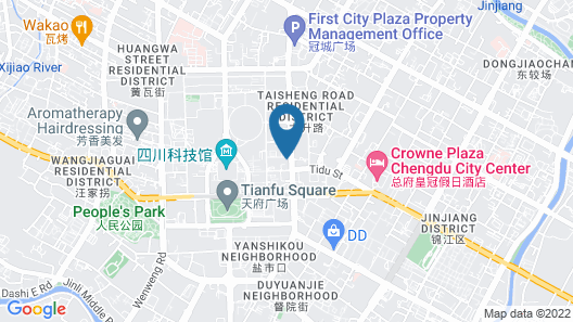 The Ritz-Carlton, Chengdu Map