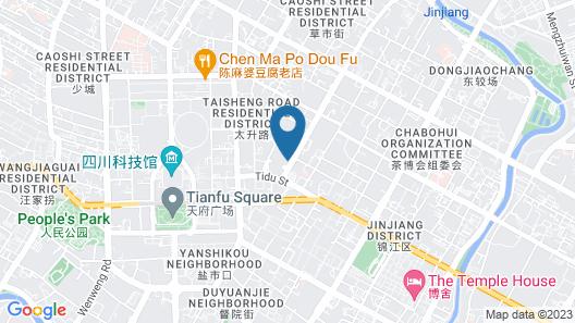 Crowne Plaza Chengdu City Center Map