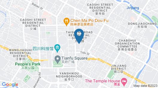 The St. Regis Chengdu Map
