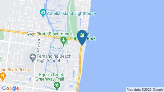 Elizabeth Pointe Lodge Map