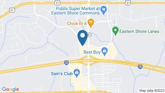 La Quinta Inn & Suites by Wyndham Mobile - Daphne Map