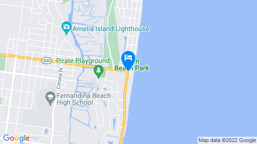 Seaside Amelia Inn Map