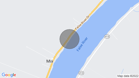 False River Fishing Camp Map