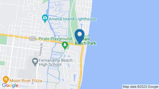 Comfort Suites Fernandina Beach at Amelia Island Map