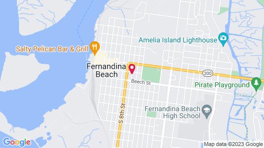 Amelia Island Williams House Map
