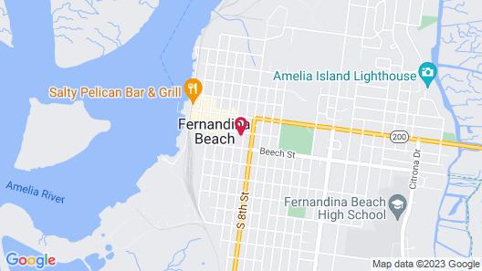 The Addison on Amelia Island Map