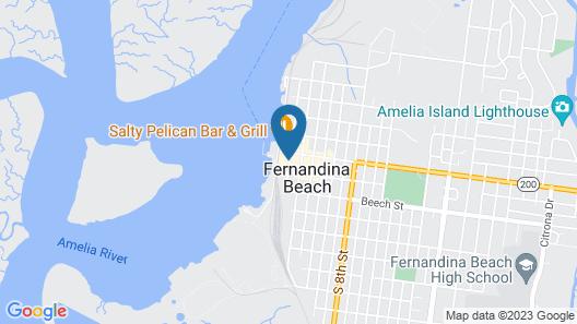 Hampton Inn and Suites Amelia Island Historic Harbor Front Map