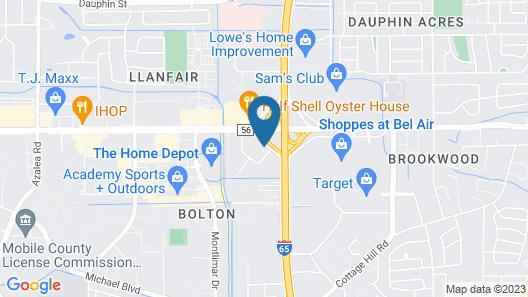 Hilton Garden Inn Mobile West I-65/Airport Blvd Map