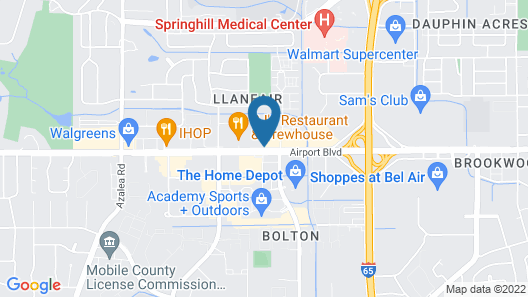 La Quinta Inn & Suites by Wyndham Mobile Map
