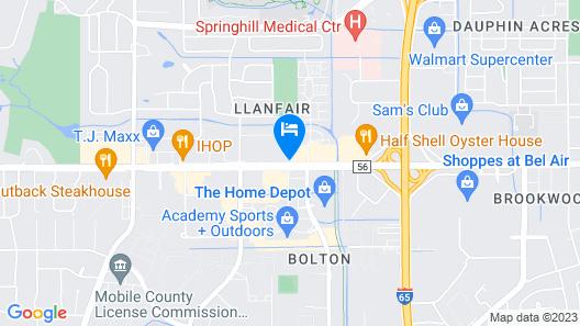 La Quinta Inn & Suites by Wyndham Mobile Map