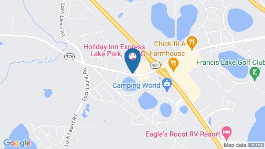 Holiday Inn Express Lake Park, an IHG Hotel Map